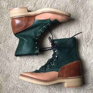 NWT vintage leather boots